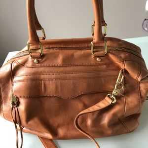 Rebecca Minkoff MAB Morning After Bag Leather Tan